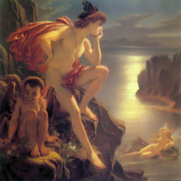 Joseph Noel Paton Oberon and the Mermaid JKAM.jpg