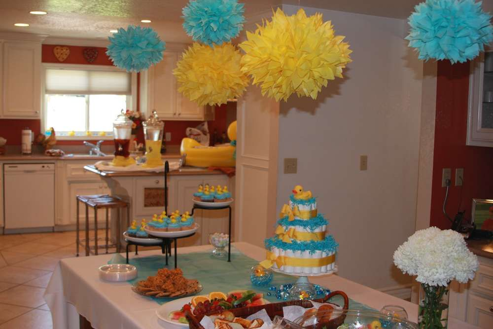 Rubber Ducks Baby Shower Party Ideas