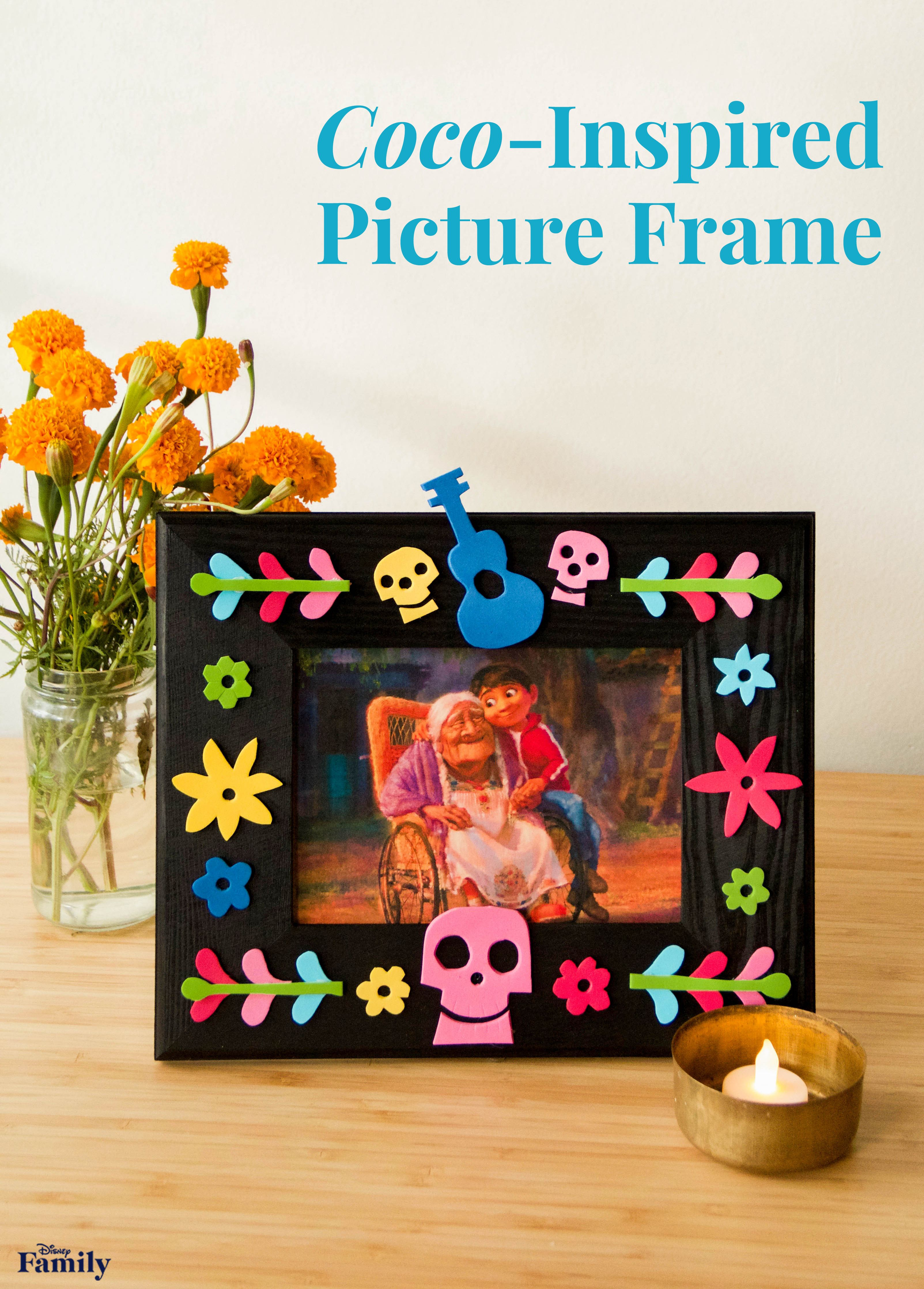 Show Your Love For Coco And Your Family With This Diy Frame