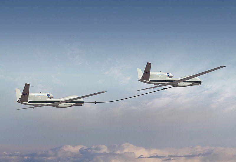 Darpa kqx global hawk refueling unmanned aerial