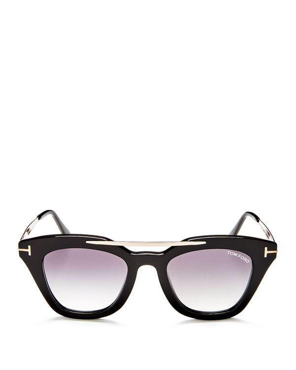 00083d450d91a Tom Ford Anna Square Sunglasses