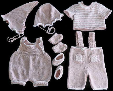 Poppenkleertjes breien patroon | Baby Born | Pinterest | Ropa de la ...