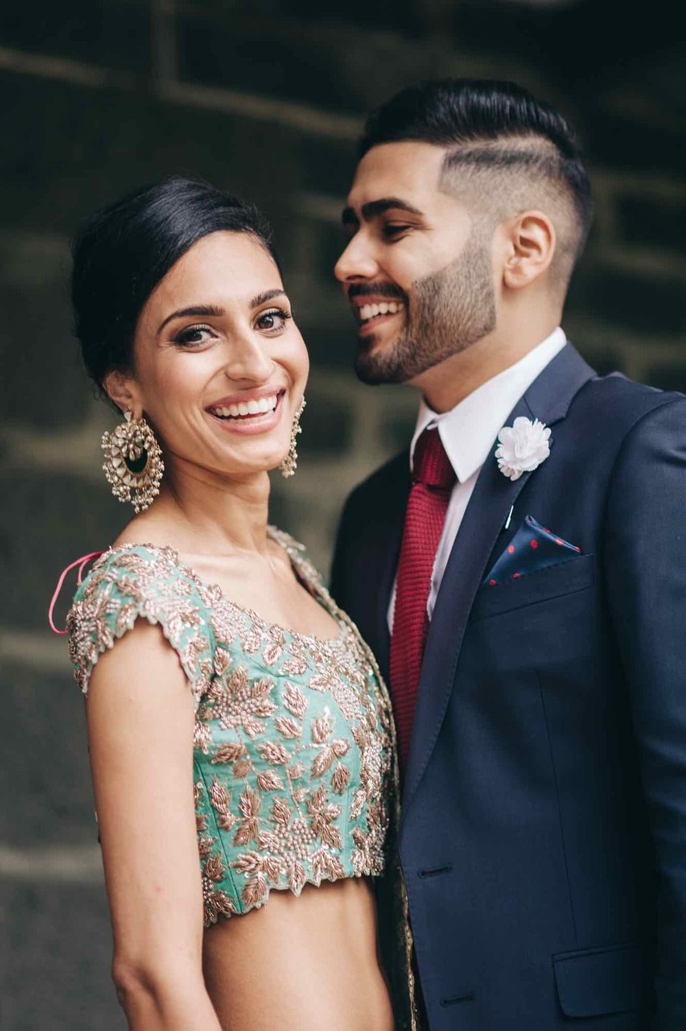 Vintage Fairytale Indian Engagement in Melbourne | wedding couple