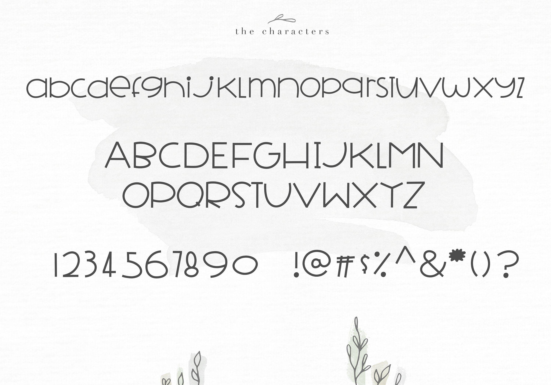 Farmhouse A Bold Handwritten Font Lettering alphabet
