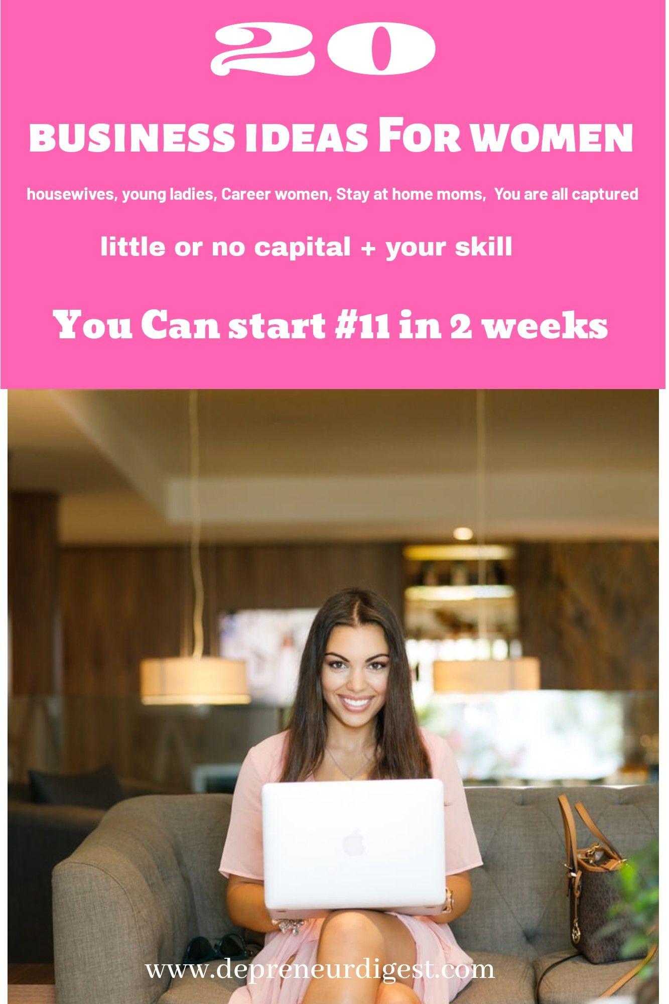 20 Profitable Business Ideas For Women Popular Business Ideas