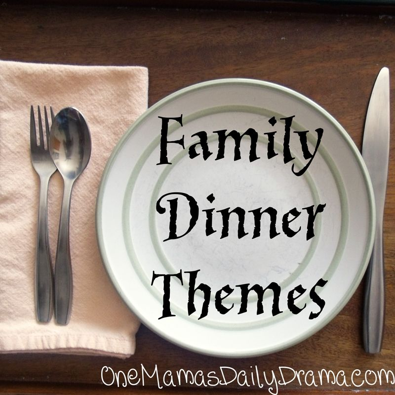 Family Dinner Party Ideas Part - 50: Plan A Family Fun Night With Dinner, A Movie, And A Game. Family Dinner  Theme Ideas - One Mamau0027s Daily Drama (Not Really A Game Night, But Would Be  A Fun ...