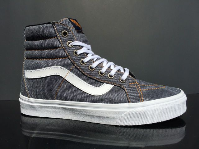8d5d23e399 BRAND NEW Vans Sk8-Hi ReIssue Denim Indigo Dress Blue Men s Shoes  Vans