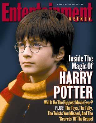 Harry Potter: Magic Lessons [Entertainment Weekly magazine - Nov 30, 2001]