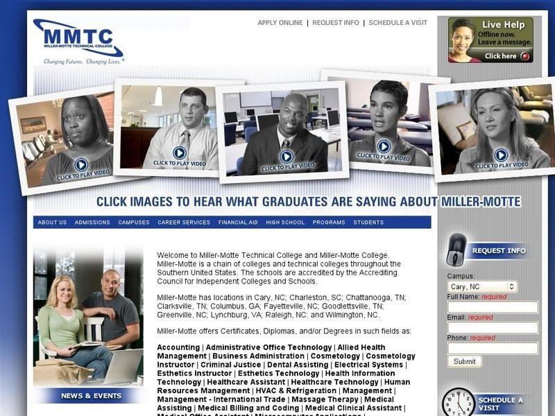 Millermotte technical college col lege university list