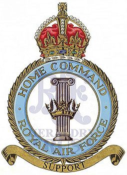 RAF Enamel Lapel Badge ROYAL AIR FORCE BOMBER COMMAND