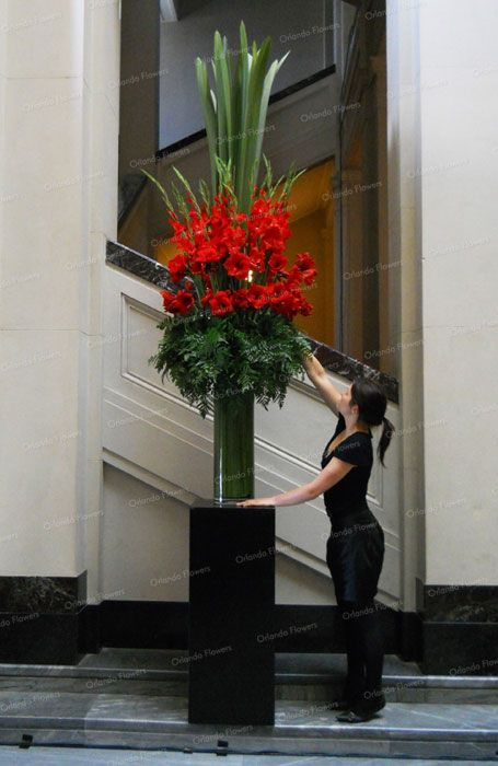Exclusive Floral Creations For Weddings Entertaining Corporate Events Large Flower Arrangements Large Floral Arrangements Tall Flower Arrangements