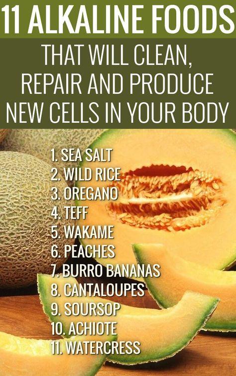 Photo of 11 Alkalische Lebensmittel, die neue Zellen reinigen, reparieren und produzieren