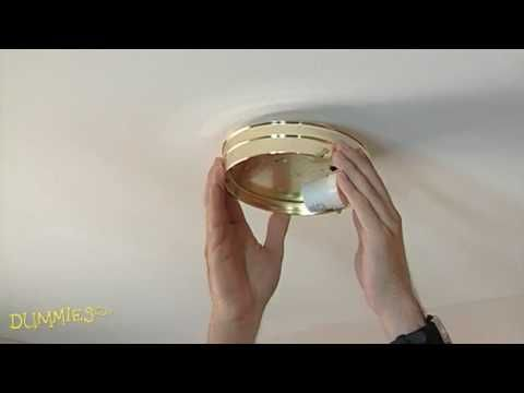 Safely Replacing A Ceiling Light Fixture Is A Manageable DIY  Home Improvement Project. You Donu0027t Need A Professional Electrician To  Replace Interior ...