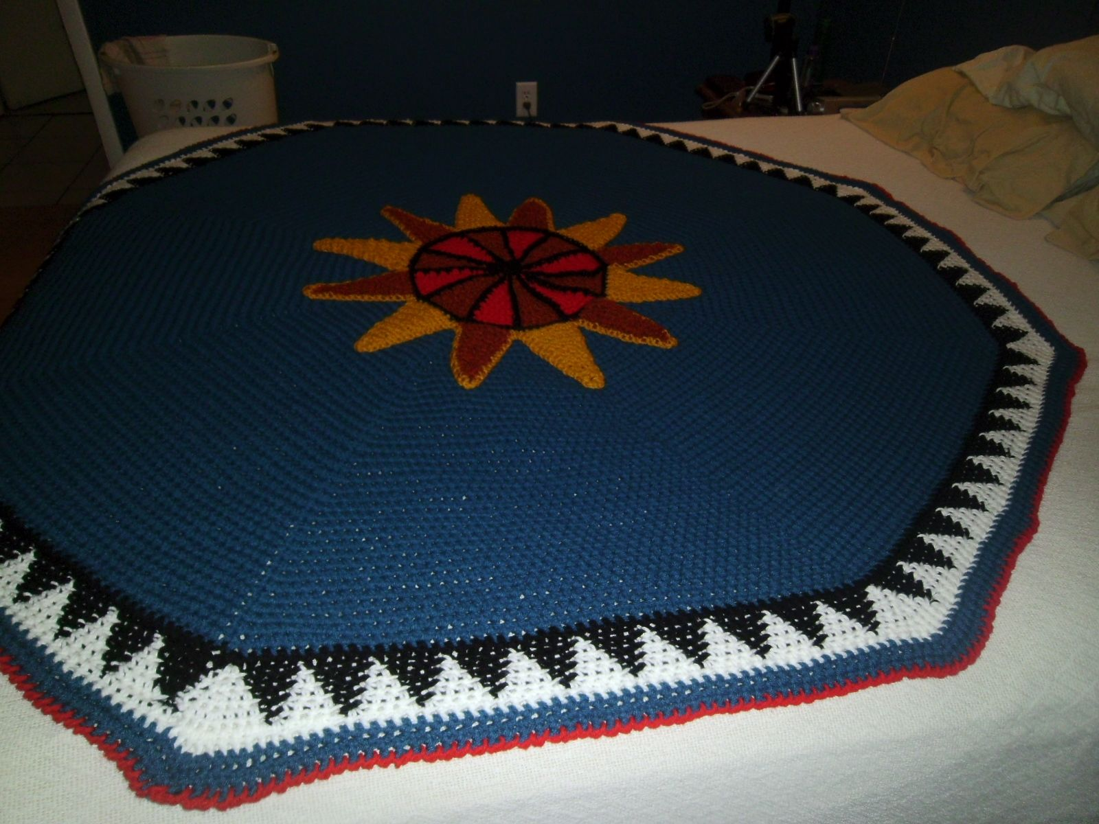 I Designed This Afghan For My Bro In Law He Is Choctaw Indian So I