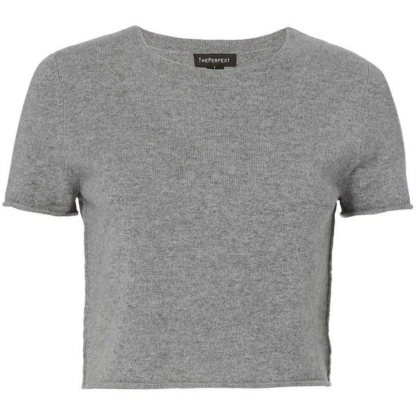 ThePerfext Women's Doheny Short Sleeve Cashmere Sweater ($325 ...