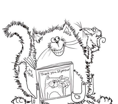 Ausmalbild Splat The Cat Sagt Danke Ausmalbilder Kostenlos Zum Ausdrucken Ausmalen Ausmalbild Ausmalbilder