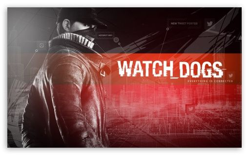 Aiden Pearce - Watch Dogs Red wallpaper