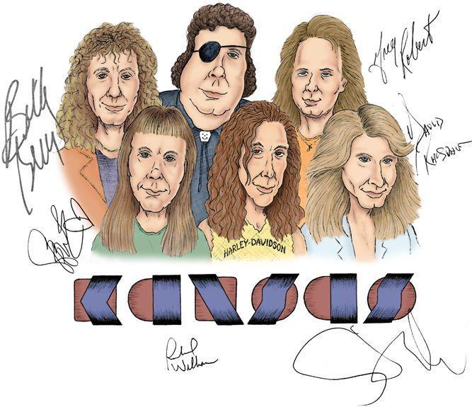 Resultado de imagen de kansas band logo