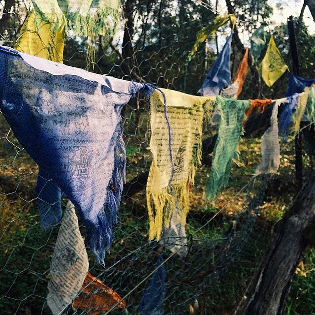 Day 29 #88Days luck is believing you're lucky  #tibetanprayerflags