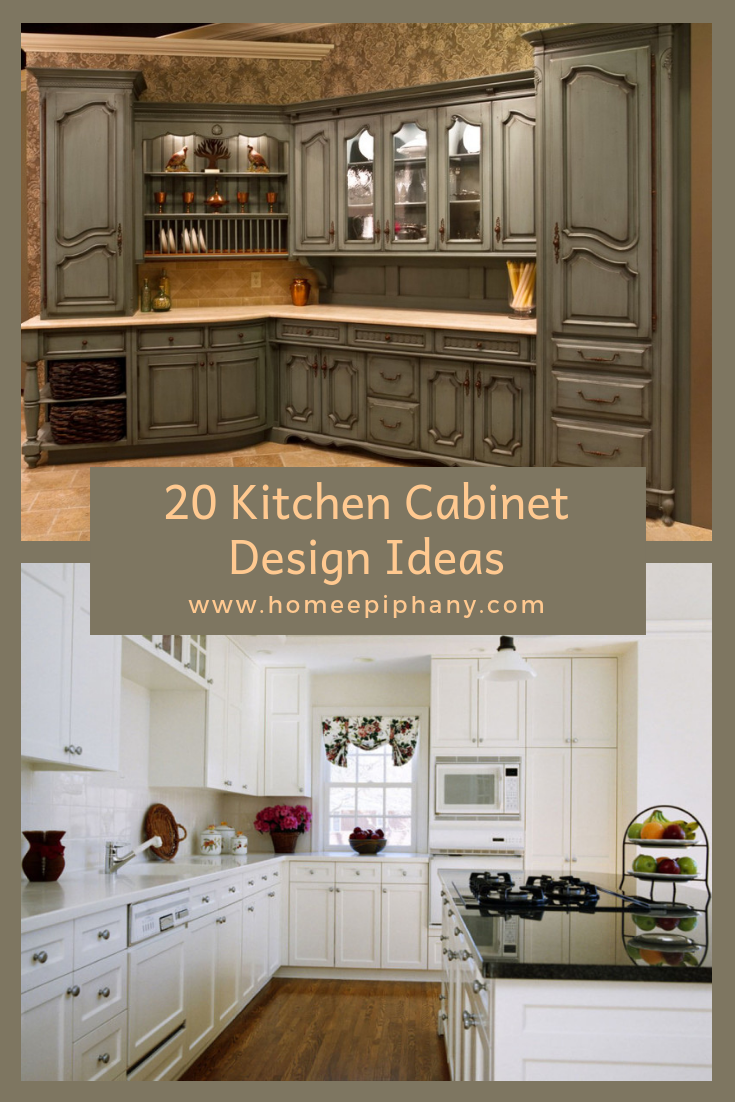 20 Kitchen Cabinet Design Ideas With Images Kitchen Cabinet