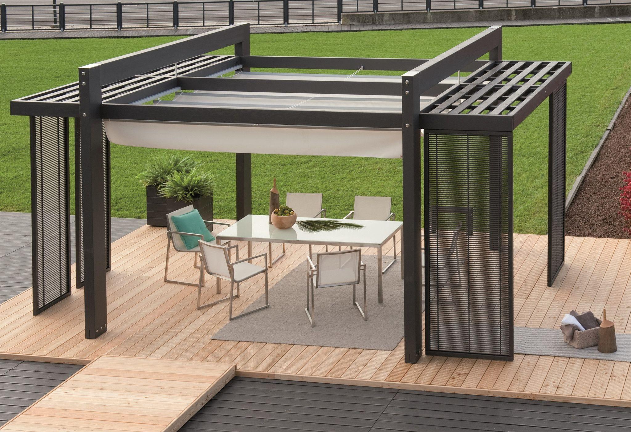 Laria - Modern Italian Wooden Pergola Pools & Outdoor