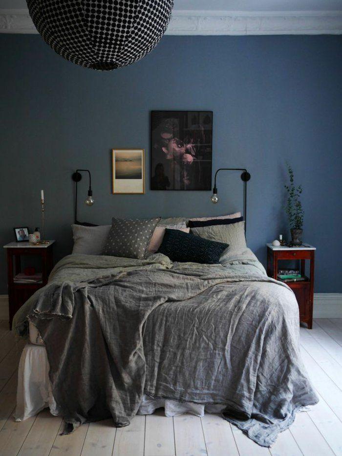 quelle peinture choisir pour l 39 int rieur id es en 55 photos chambre a coucher mbr a ku. Black Bedroom Furniture Sets. Home Design Ideas