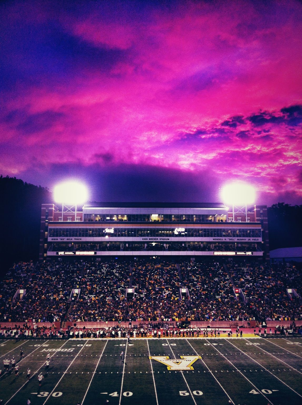 Kidd Brewer Stadium Asu Boone Nc Appalachian State University Boone Nc Oh The Places You Ll Go