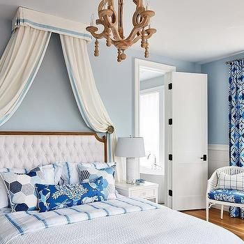 White and Blue French Bedroom   Bedroom   Sarah richardson ...