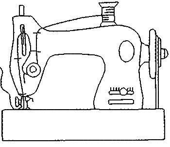 Funda Maquina De Coser Maquinas De Coser Dibujo Cubiertas Para Maquina De Coser Maquina De Coser