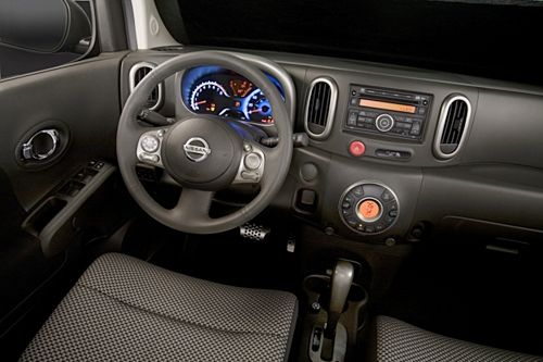 The Nissan Cube Dash Is All About Curves And Contours For An Interior  Thatu0027s Different.
