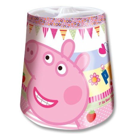 Peppa pig lampshade summers room pinterest peppa pig lampshade aloadofball Image collections