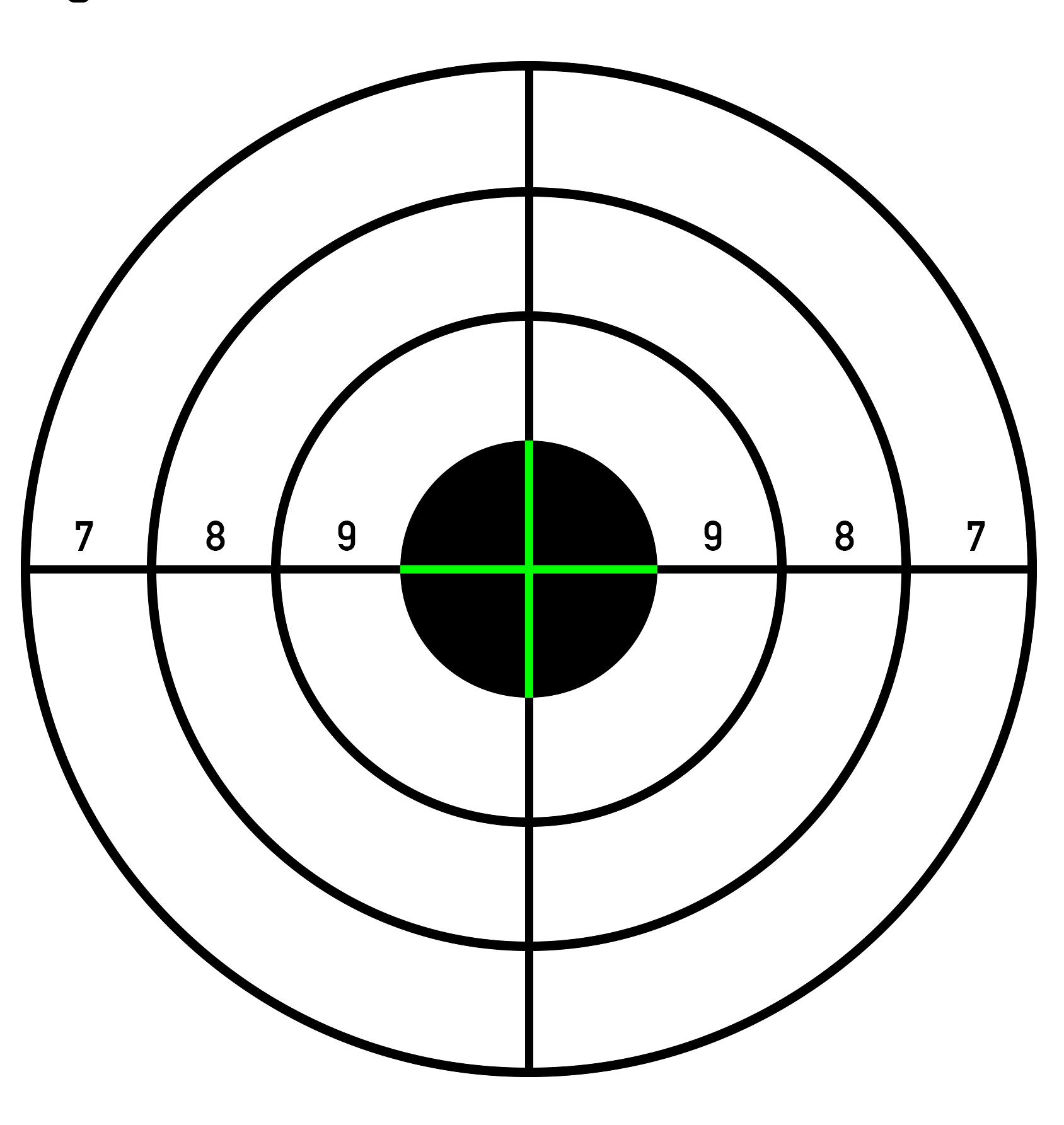 Paper Shooting Targets Pistol Paper Shooting Targets Shooting Targets Paper Targets