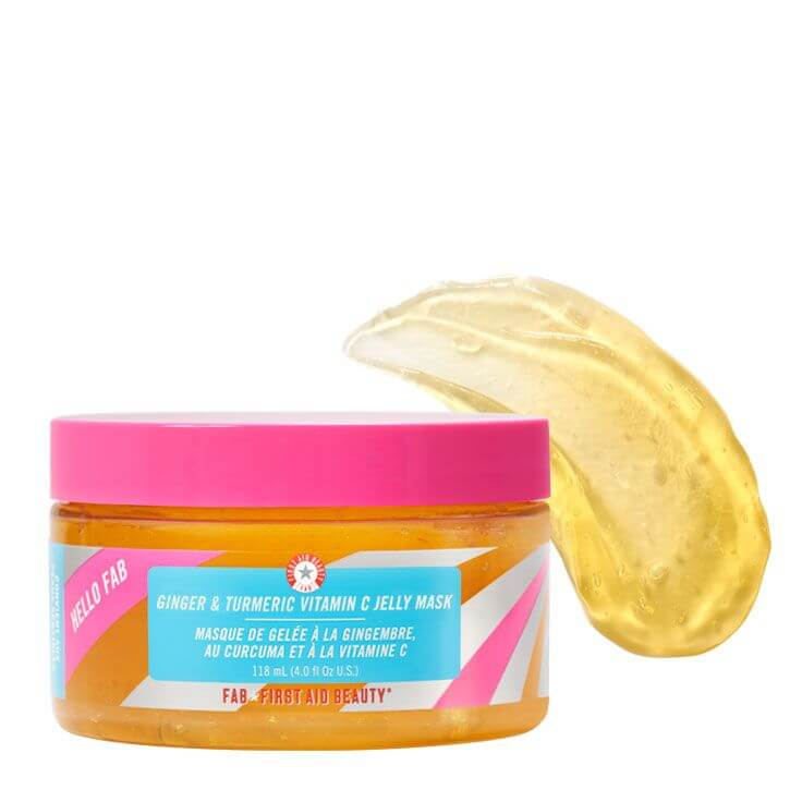 Photo of First Aid Beauty Hello FAB Ginger & Turmeric Vitamin C Jelly Mask 118ml