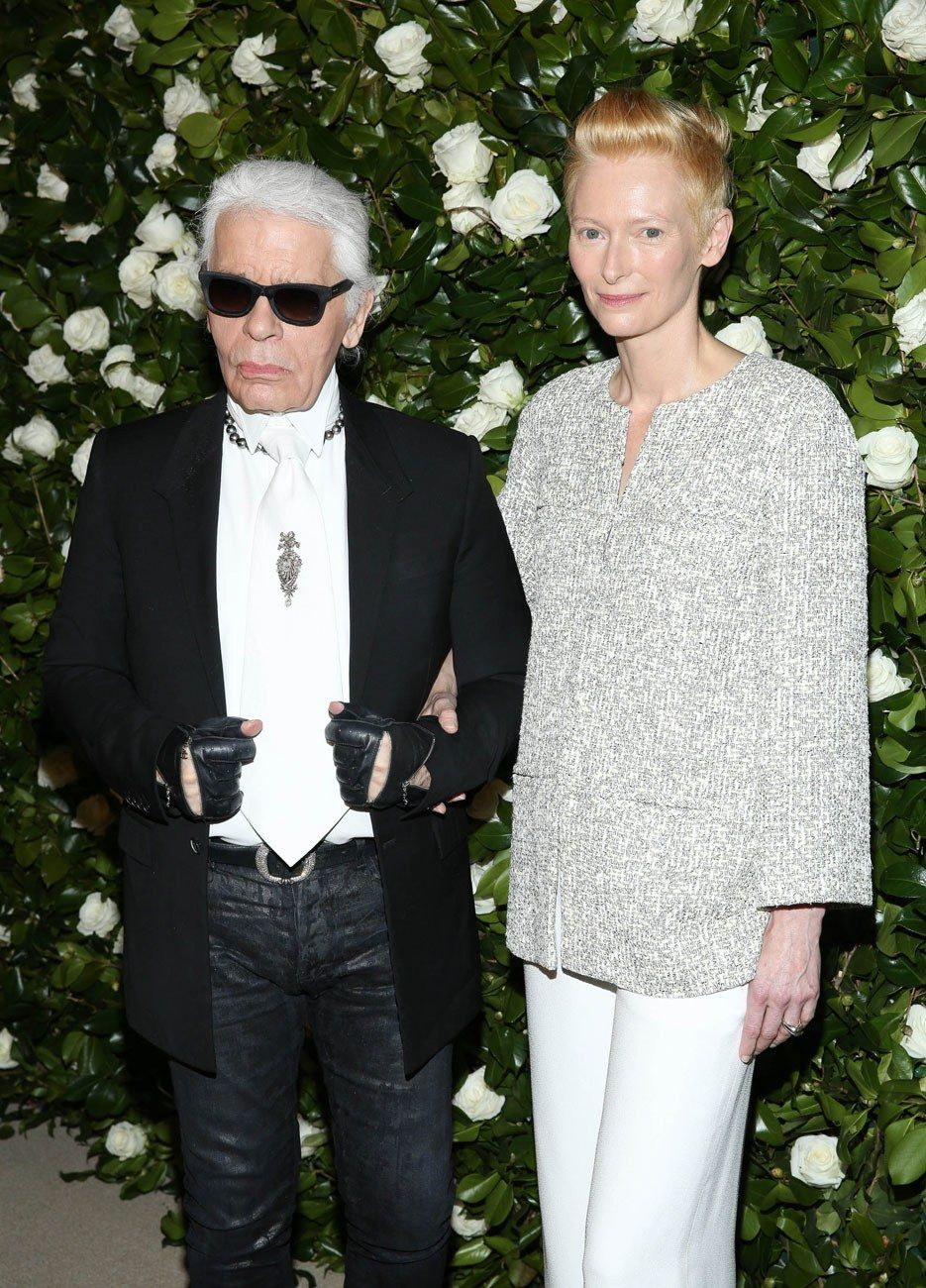 , Karl Lagerfeld Flew Choupette (and Her Personal Maid) to New York on a Private Jet for Tilda Swinton's Birthday Party, Anja Rubik Blog, Anja Rubik Blog