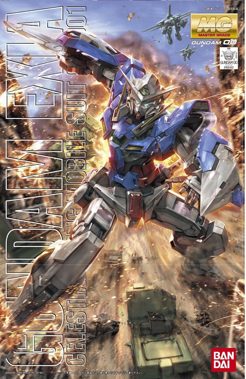 Bandai Hobby Gundam 00 EXIA Bandai Master Grade MG 1/100