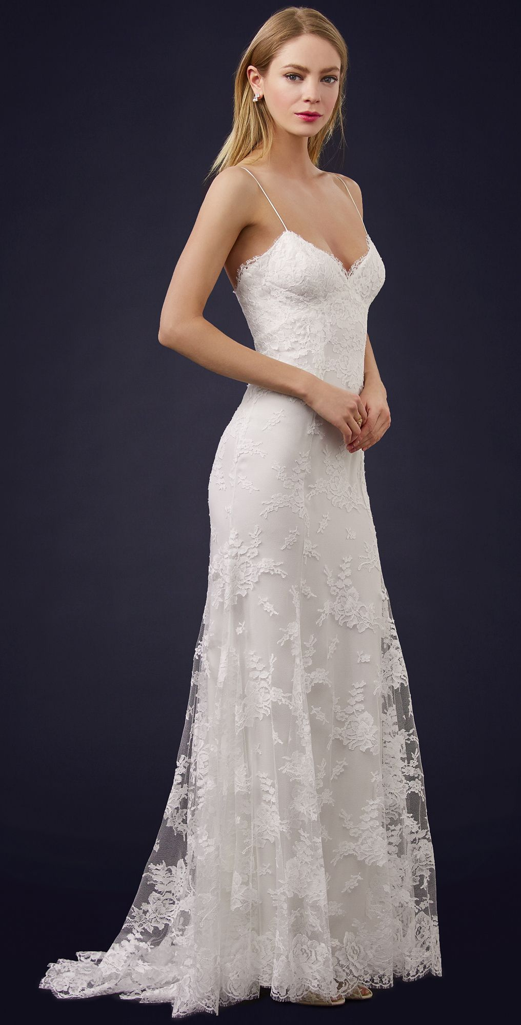 Sienna chantilly lace gown pinterest chantilly lace monique