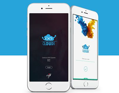 """Check out new work on my @Behance portfolio: """"Clouds : User Interface for Mobile Application"""" http://be.net/gallery/42764241/Clouds-User-Interface-for-Mobile-Application"""
