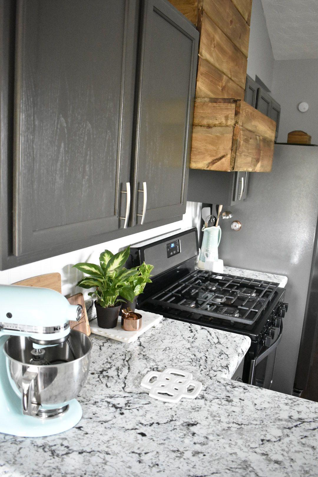 modern farmhouse kitchen rustic accents with a neutral base white ice formica farmhouse on farmhouse kitchen decor countertop id=94760