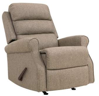 Homesvale Linder Rocker Recliner Chair In Renu Performance Tested