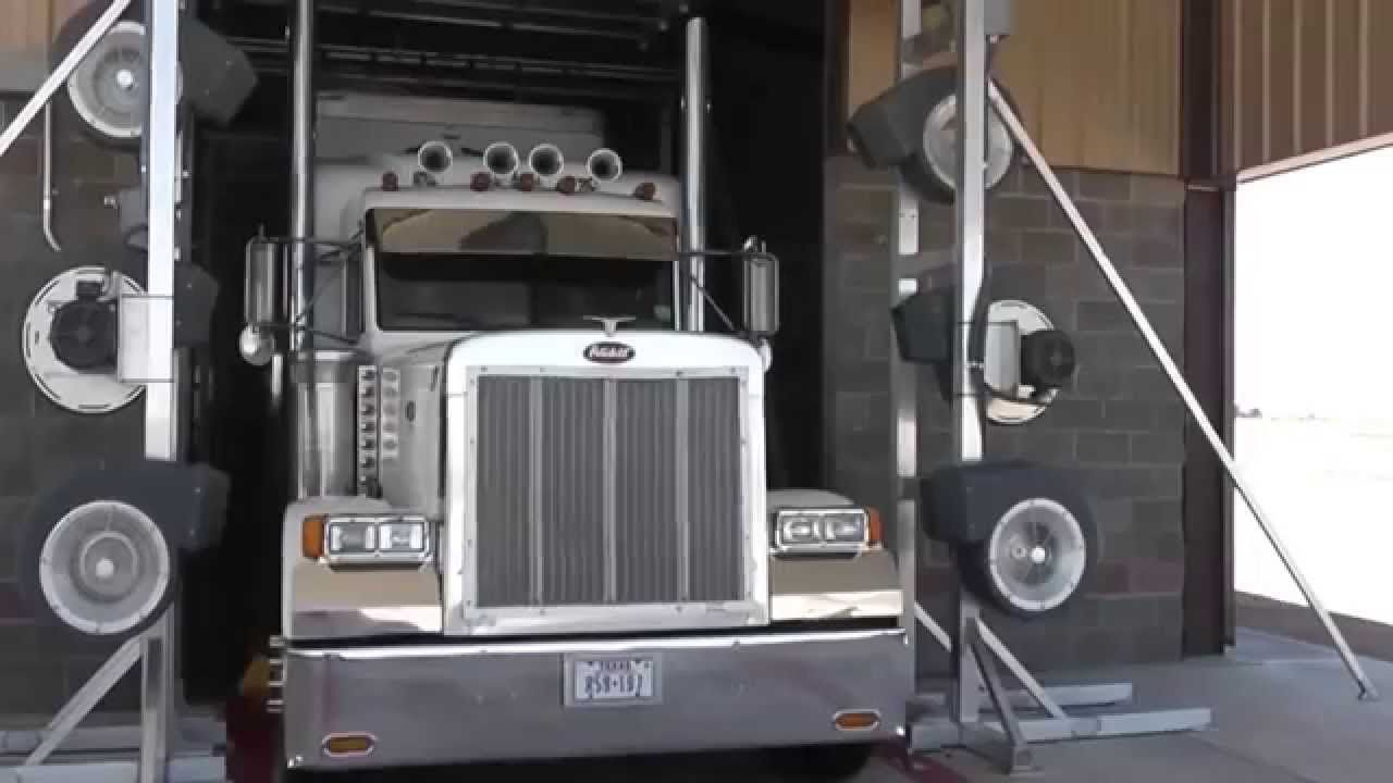 Invest in a Commercial Automated Truck Wash Business
