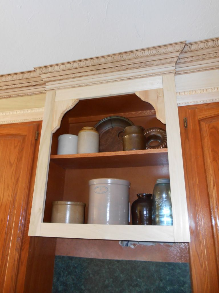 Project Making An Upper Wall Cabinet Taller Kitchen Cabinet Remodel Kitchen Cabinet Remodel Cabinet Molding