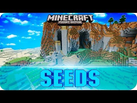 Minecraft PE 0 11 1 - TOP 5 SEEDS! Villages, Survival Islands, Rare