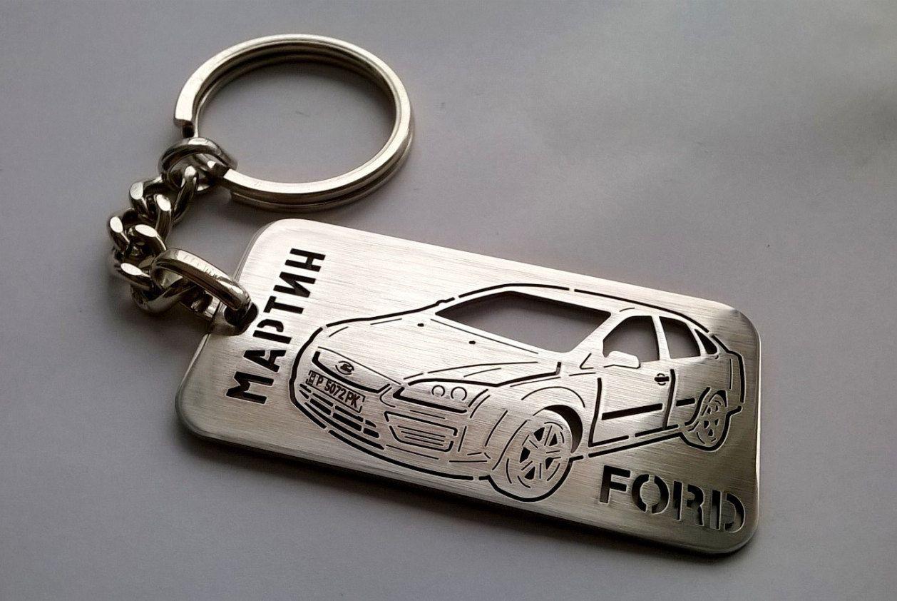 Ford Key Chain Ford Keychain Ford Ford Focus Stainless Steel Keychain Key Chain For Ford Keychain For Fo Car Personalization Custom Keychain Car Keychain