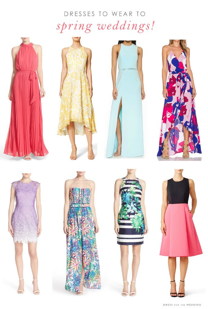 Wedding Guest Dresses for Spring Weddings | CREATIVE WEDDING ...