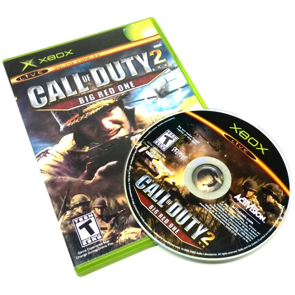 Call Of Duty 2 Big Red One Call Of Duty The Big Red One Xbox