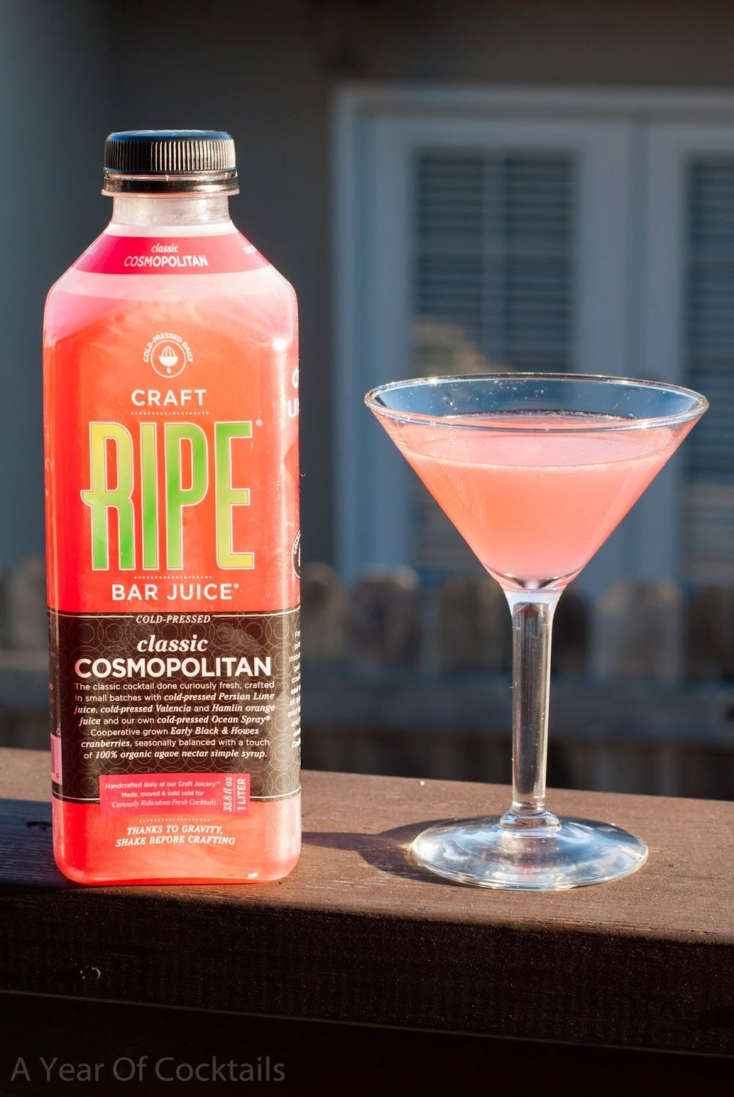 RIPE Bar Juice Review & Give Away ~ A Year of Cocktails
