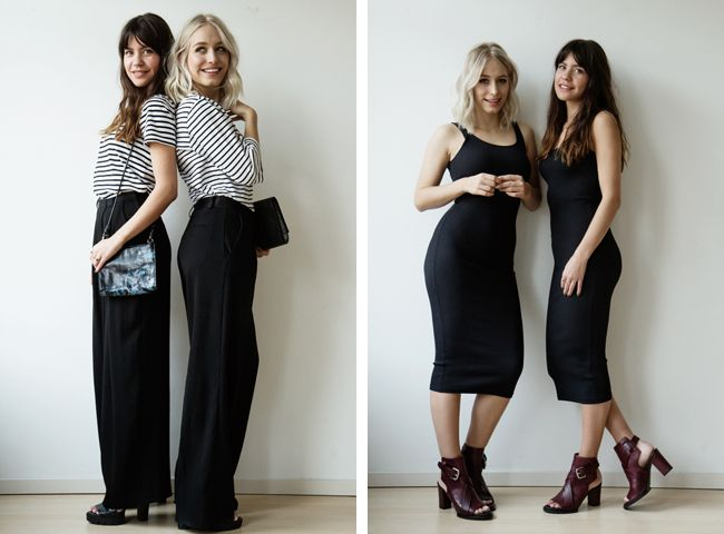 The big bestie post: me and Kim in our twin items!