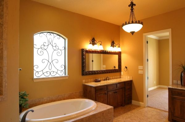 Badezimmerlampen Langer Spiegel Kronleuchterart Deco