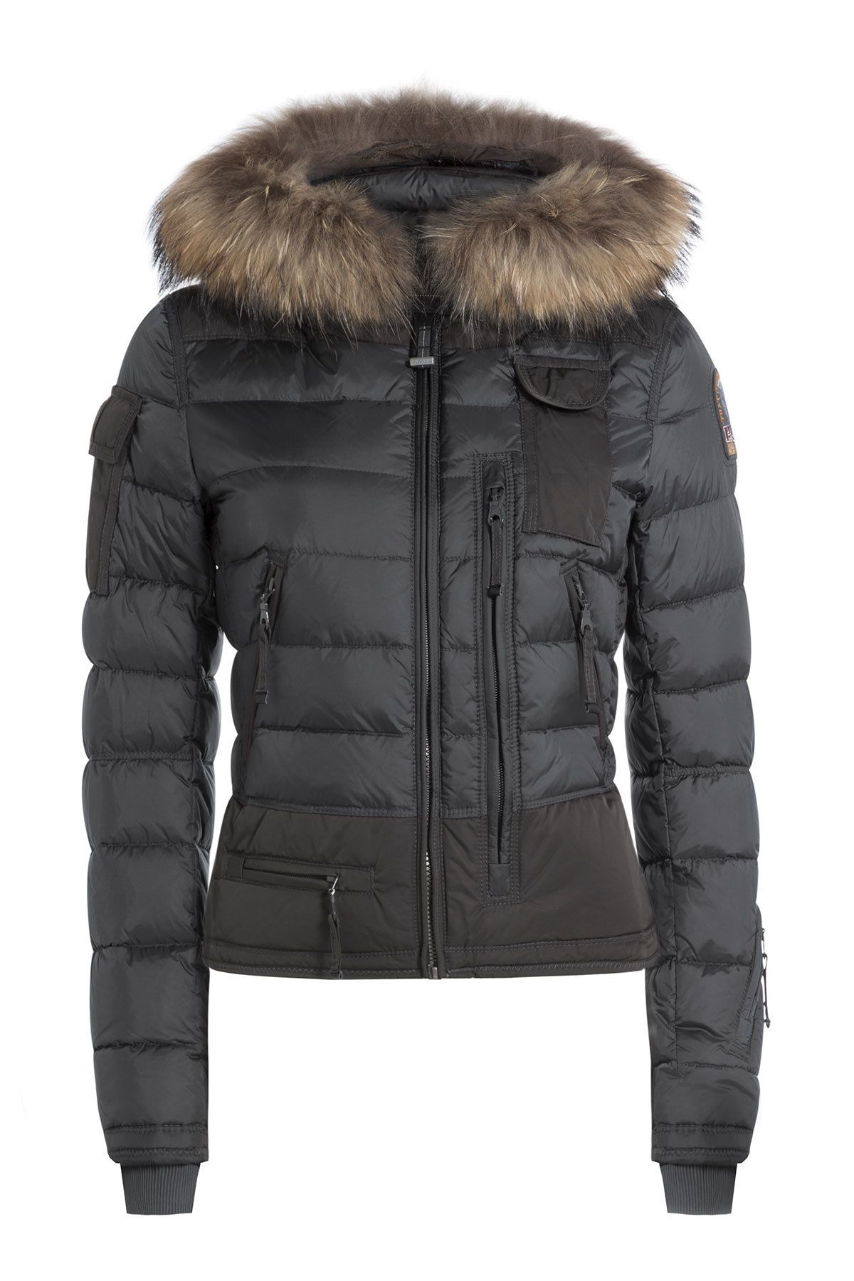 Skimaster Down Jacket with Fur-Trimmed Hood - Parajumpers