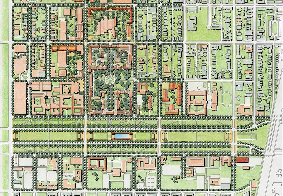 map of u of c campus The University Of Chicago Campus Master Plan The University Of Chicago Master Plan Campus Design map of u of c campus